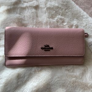 Coach Pink Wallet.